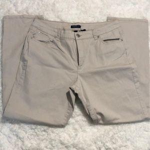 Bandolion tan jeans size 18